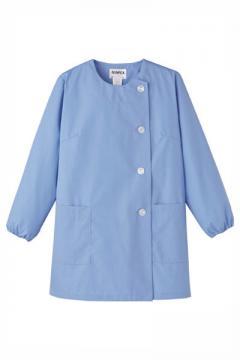 コックコート・フード・飲食店制服・ユニフォームの通販の【レストランデポ】女性用横掛白衣 長袖