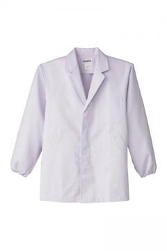 男性用長袖調理衣(制電・抗菌加工)