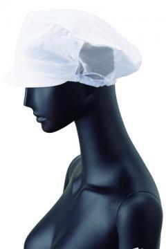 事務服用ユニフォームの通販の【事務服デポ】メッシュ帽子(白)
