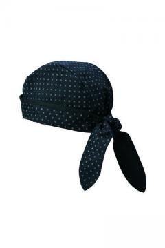 コックコート・フード・飲食店制服・ユニフォームの通販の【レストランデポ】バンダナ帽(ブラック)