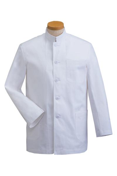 詰衿コート(綿100%)