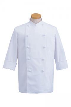 コックコート七分袖(綿100%)