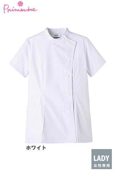女性用ケーシー 白衣(半袖・制菌)