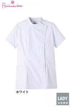 白衣や医療施設用ユニフォームの通販の【メディカルデポ】女性用ケーシー 白衣(半袖・制菌)