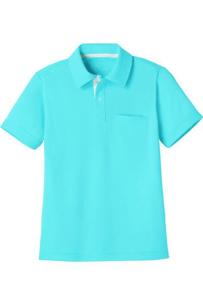 【全6色】アイメッシュ半袖ポロシャツ(ドライ)