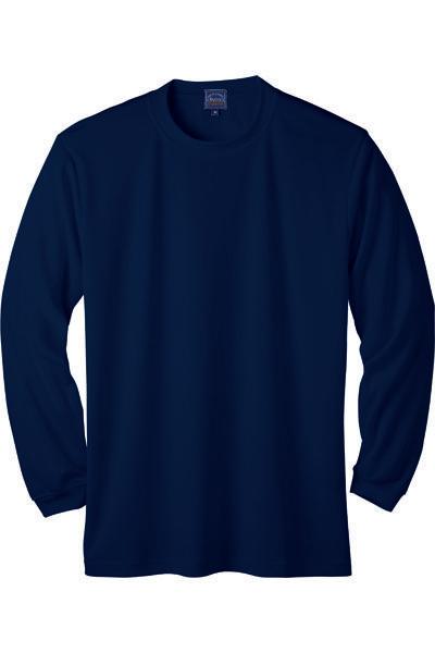 マイクロメッシュ長袖Tシャツ