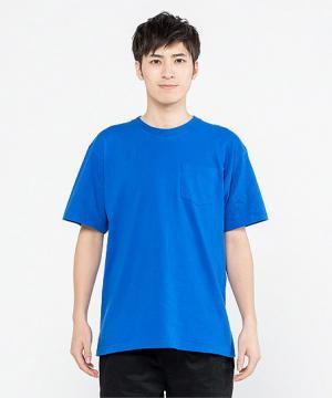 【10色】5.6オンスヘビーウェイトポケットTシャツ(半袖・XS~3XL)