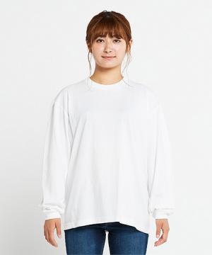 コックコート・フード・飲食店制服・ユニフォームの通販の【レストランデポ】【2色】5.6オンスヘビーウェイトビッグLS-Tシャツ(S~XL)
