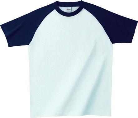 5.6オンス ラグランTシャツ