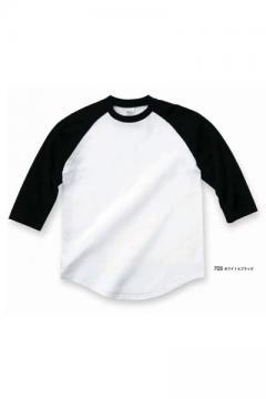 ユニフォームや制服・事務服・作業服・白衣通販の【ユニデポ】ラグランベースボールTシャツ