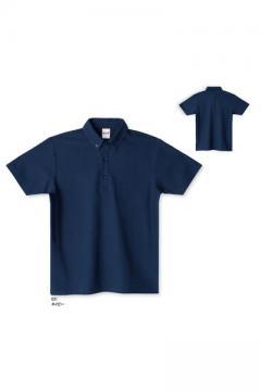 【全9色】ボタンダウンポロシャツ