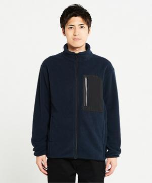 【3色】リフレクフリースジャケット(男女兼用/SS~5L)