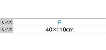 スポーツタオル サイズ詳細