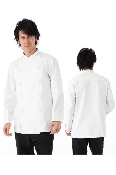 コックコート(綿100%・6Lサイズあり) KS6621-2