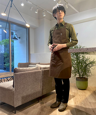 【WEB限定特価】ベーシックカラーシャツ(長袖)EP5962