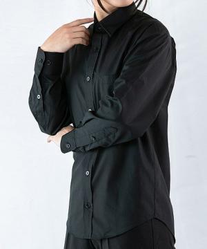 【WEB限定特価】ベーシックカラーシャツ(長袖)