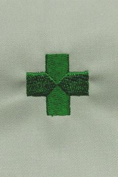 ユニフォームや制服・事務服・作業服・白衣通販の【ユニデポ】安全マーク刺繍代