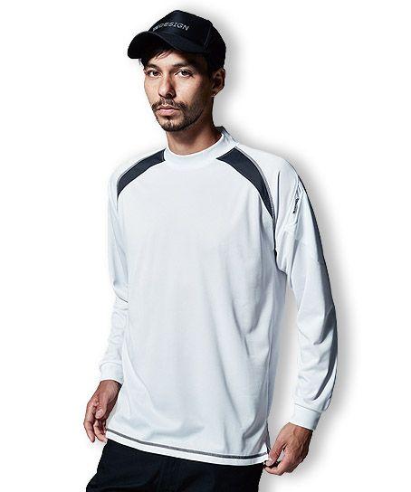 【TS DESIGN】スマートネックシャツ