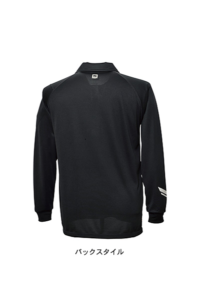 【TS DESIGN】FLASH長袖ポロシャツ