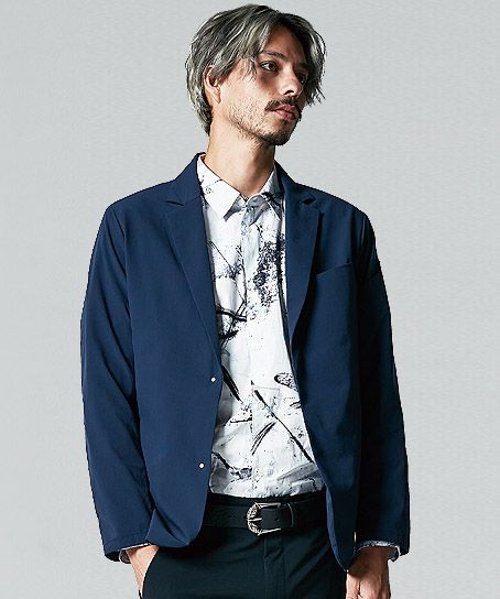【TS DESIGNワークスーツ】ステルスジャケット(メンズ・ストレッチ・通年)