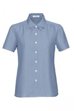 ユニフォームや制服・事務服・作業服・白衣通販の【ユニデポ】半袖オーバーブラウス