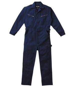 作業服の通販の【作業着デポ】【全3色】カジュアル長袖ツヅキ服(綿100%)