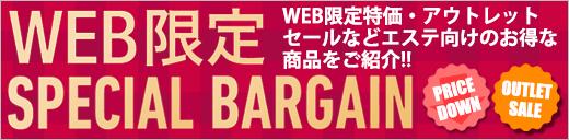 WEB限定SPECIAL BARGAIN特集