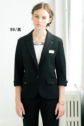 【全2色】ニットワッフルジャケット