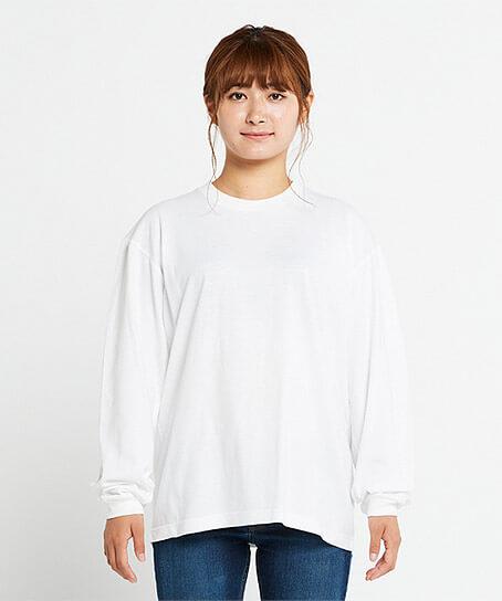 【2色】5.6オンスヘビーウェイトビッグLS-Tシャツ(S~XL)