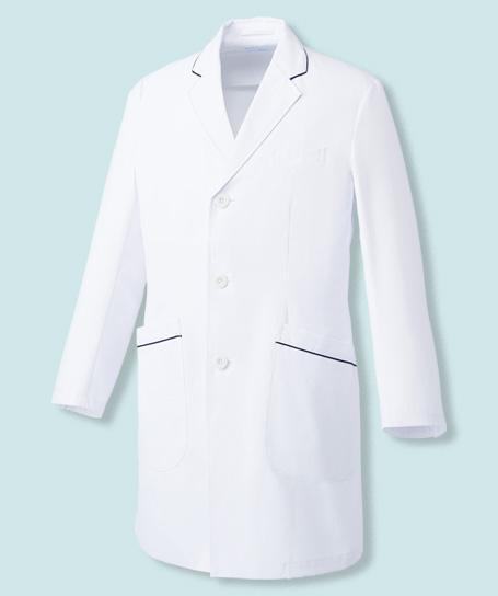 【Mizuno】ミズノ ドクターコート白衣【男】透防止・制電・制菌