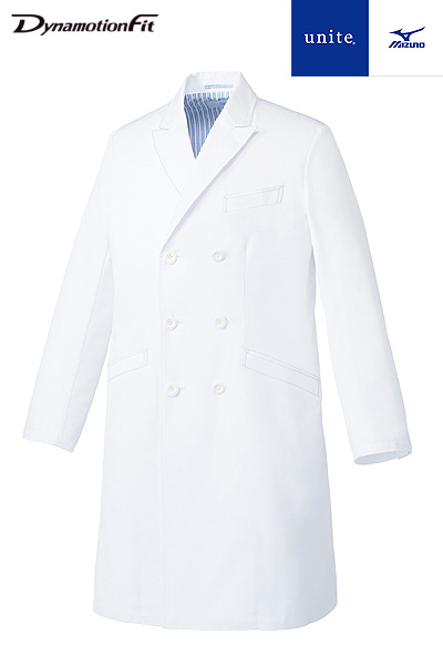 【Mizuno】ミズノ ドクターコート白衣(メンズ)