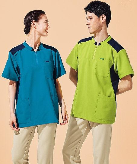 【全4色】ニット付プルオーバージャケット(男女兼用)
