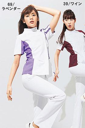 【全4色】レディースケーシーコート 白衣(高機能)