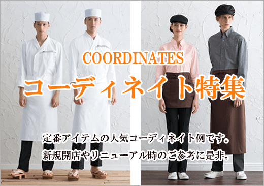 コーディネート例紹介