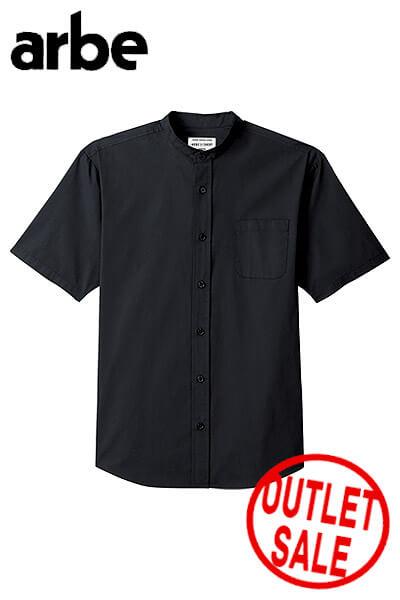 【OUTLET】半袖スタンドカラーシャツ※廃番※