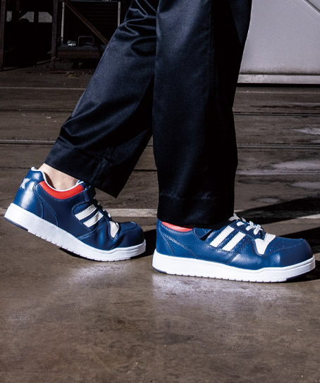 【全4色】セーフティシュ-ズ 安全靴(樹脂先芯・軽量)