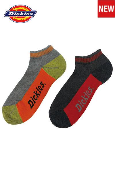 【Dickies】 ショート2P靴下・ソックス