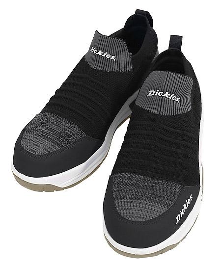 【Dickies】ディッキーズ セーフティースニーカー ニットスリッポン 安全靴