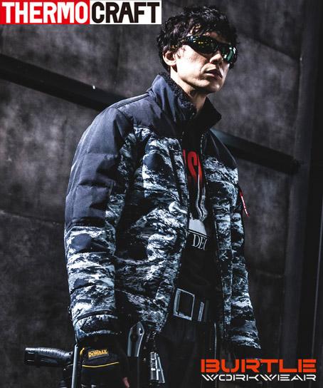 【予約商品】バートル・サーモクラフト防寒ジャケット(男女兼用・電熱ウェア・撥水)