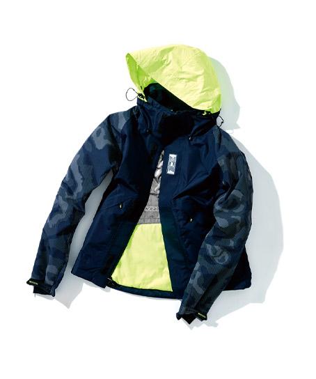 【TS DESIGN】メガヒートフラッシュ防水防寒ジャケット(反射・防風)