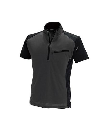 【TS DESIGN】(Premium)ワークニットショートシャツ